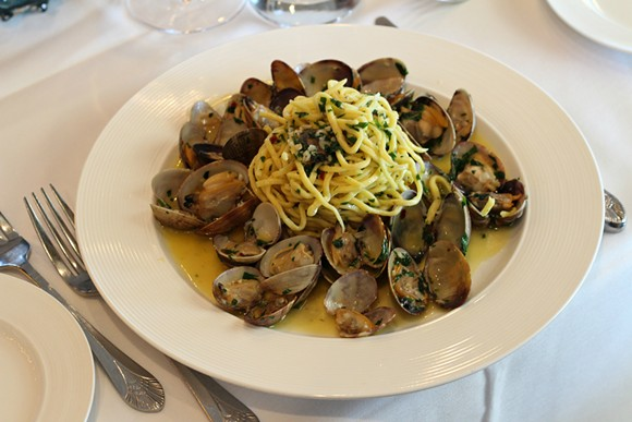 The spaghetti and clams at Bacco in Southfield show off Italy's coastal flavors with pride.
