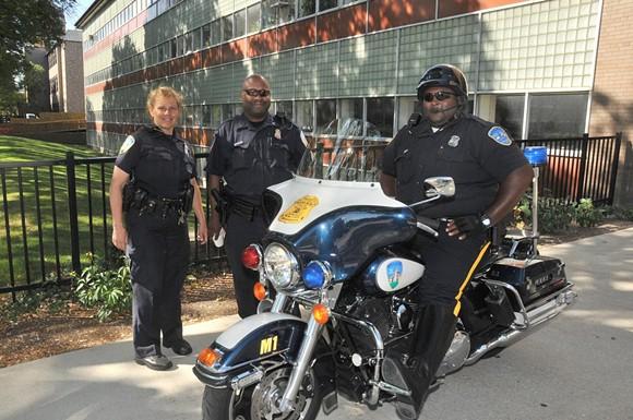 Wayne State Police Officers - PHOTO VIA FLICKR