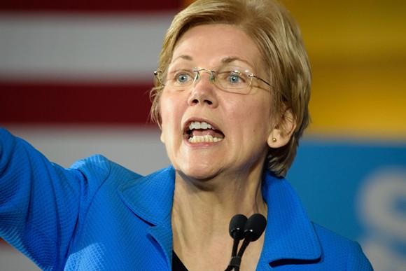 Senator Elizabeth Warren. - SHUTTERSTOCK