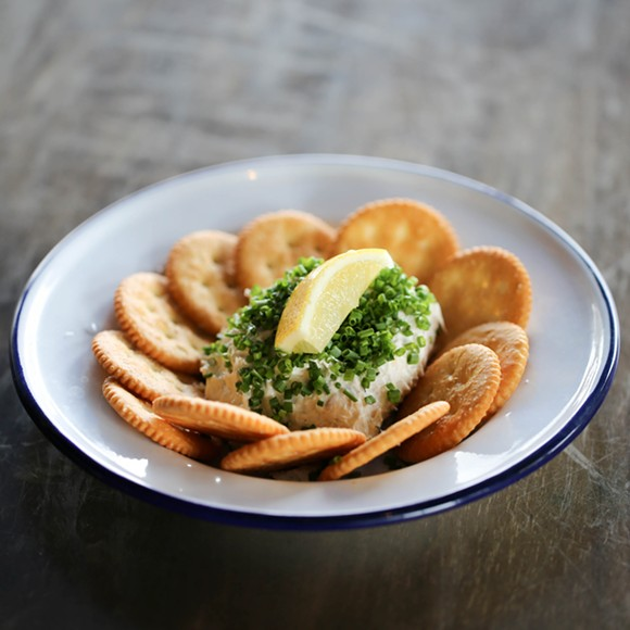 Smoked trout dip - PHOTO BY MICHAEL GUTELLI, CLARK + ALDINE
