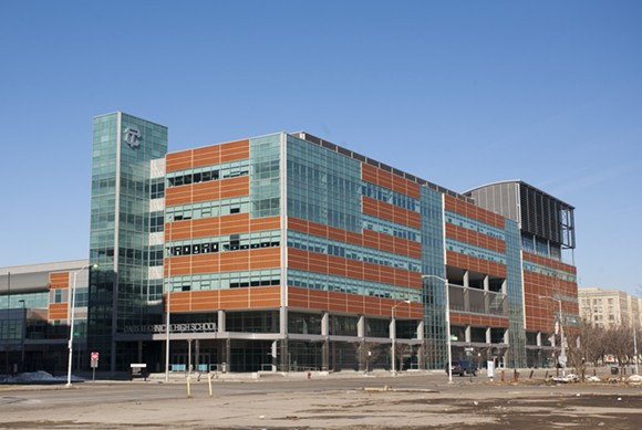 Cass Technical High School - PHOTO BY ALBERT DUCE (WIKIMEDIA COMMONS)