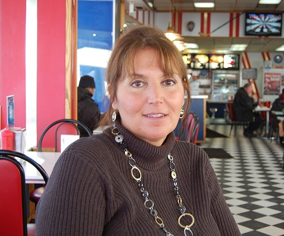 Grace Keros of American Coney Island. - METRO TIMES FILE PHOTO