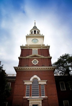 The clocktower at the Henry Ford Museum of American Innovation. - PHOTO BY BILL BOWEN.