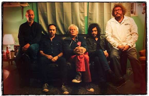 GUIDED BY VOICES, 2017. PHOTO BY SANDLIN GAITHER.
