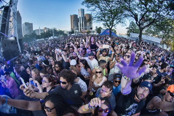 THE SCENE AT THE MOVEMENT FESTIVAL IN 2015. PHOTO BY DONTAE ROCKYMORE.