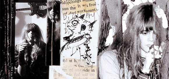 MS. HERREMA IN A DETAIL FROM THE 'TWIN INFINITIVES' GATEFOLD.