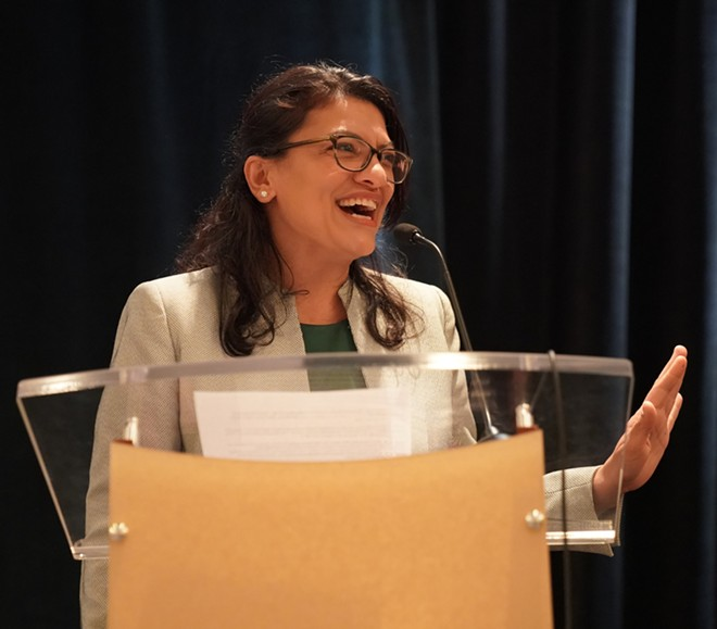 Rep. Rashida Tlaib is running for reelection. - SHUTTERSTOCK