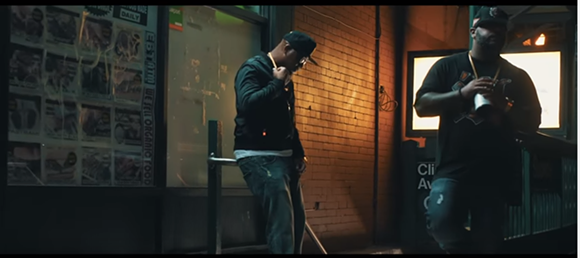"""SCREENGRAB FROM APOLLO BROWN AND SKYZOO'S """"NODDING OFF"""""""