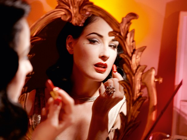 21d3493ee6a8 How Heather Sweet from West Branch became Dita Von Teese