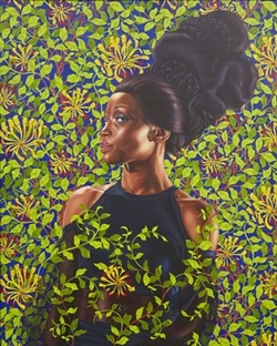 "Kehinde Wiley, ""Shantavia Beale II."" - COURTESY PHOTO."