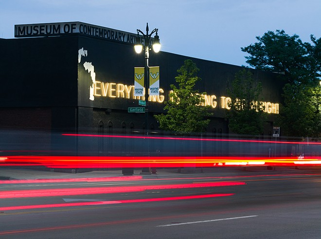 The Museum of Contemporary Art Detroit. - STEVE NEAVLING