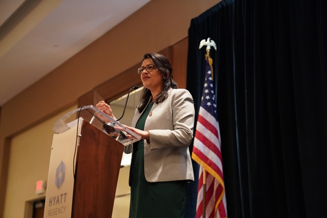 U.S. Rep. Rashida Tlaib. - PHIL PASQUINI / SHUTTERSTOCK.COM