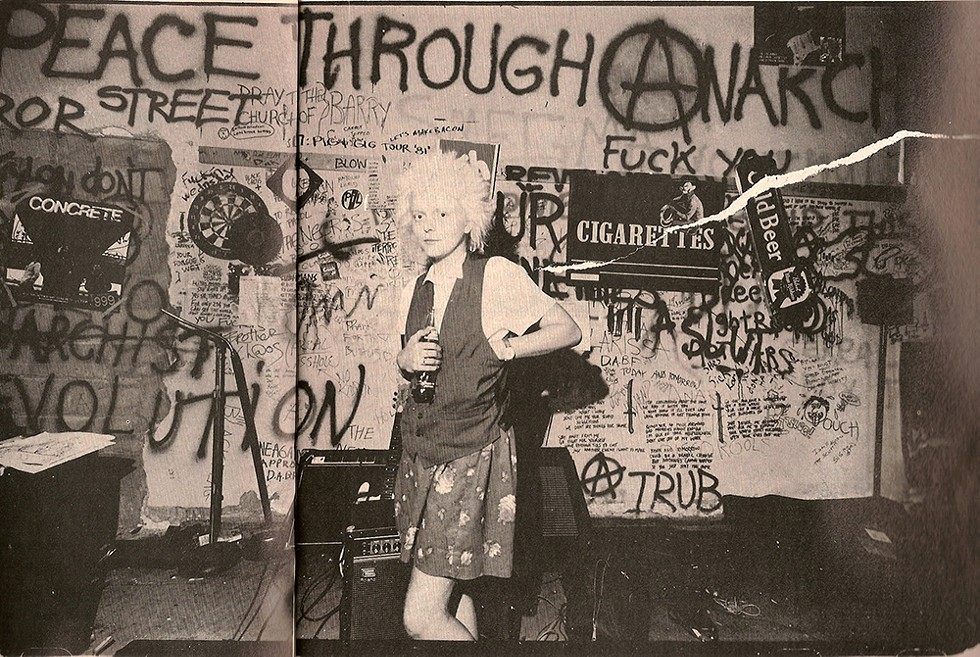 Larissa Stolarchuk in 1982. - COURTESY OF THIRD MAN RECORDS