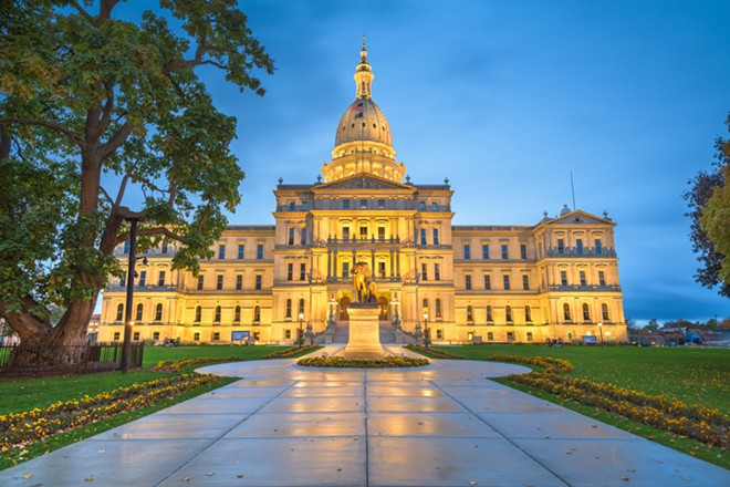 Michigan Capitol. - SHUTTERSTOCK.COM