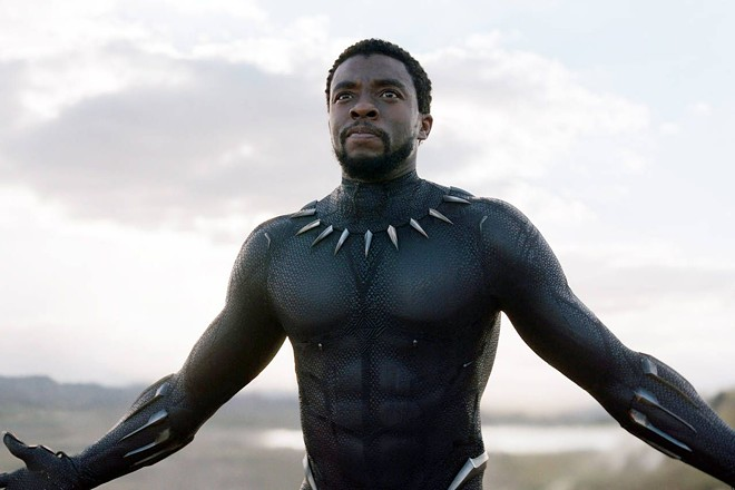 Chadwick Boseman as King T'Challa in Black Panther. - MARVEL STUDIOS/WALT DISNEY PICTURES