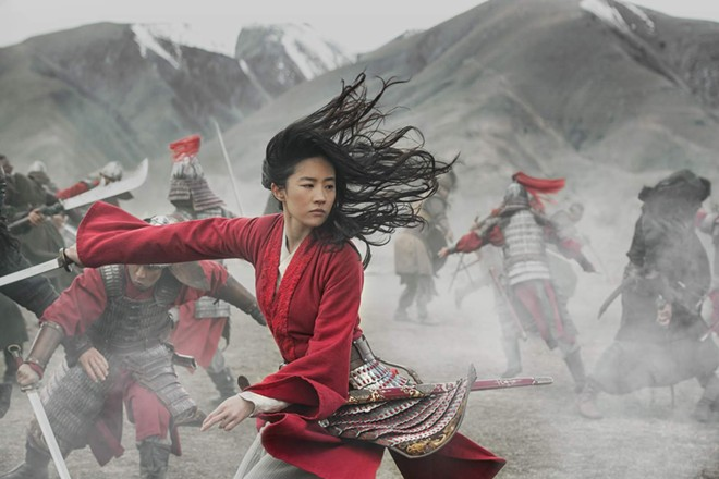 Mulan. - DISNEY