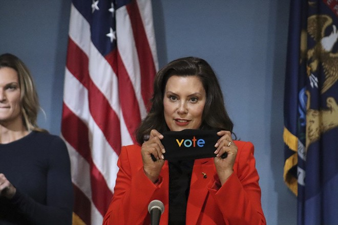 Gov. Gretchen Whitmer. - STATE OF MICHIGAN