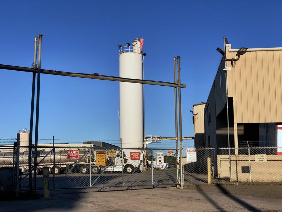 U.S. Ecology facility on Detroit's east side received permission to expand its storage of toxic waste ninefold. - STEVE NEAVLING