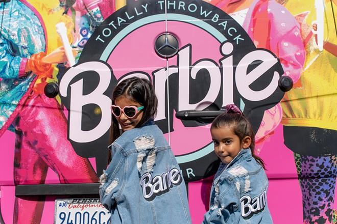 BARBIE TOTALLY THROWBACK TOUR