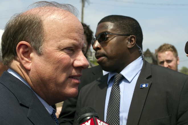 Mayor Mike Duggan. - STEVE NEAVLING