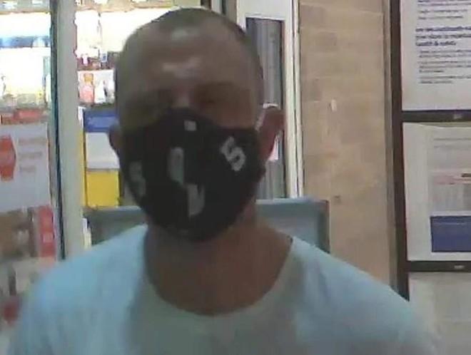 This man is accused of pooping in a Meijer store in Van Buren Township. - VAN BUREN TOWNSHIP POLICE