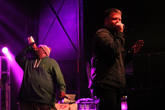 RUN THE JEWELS PERFORMING LIVE. IMAGE FROM WIKIPEDIA.