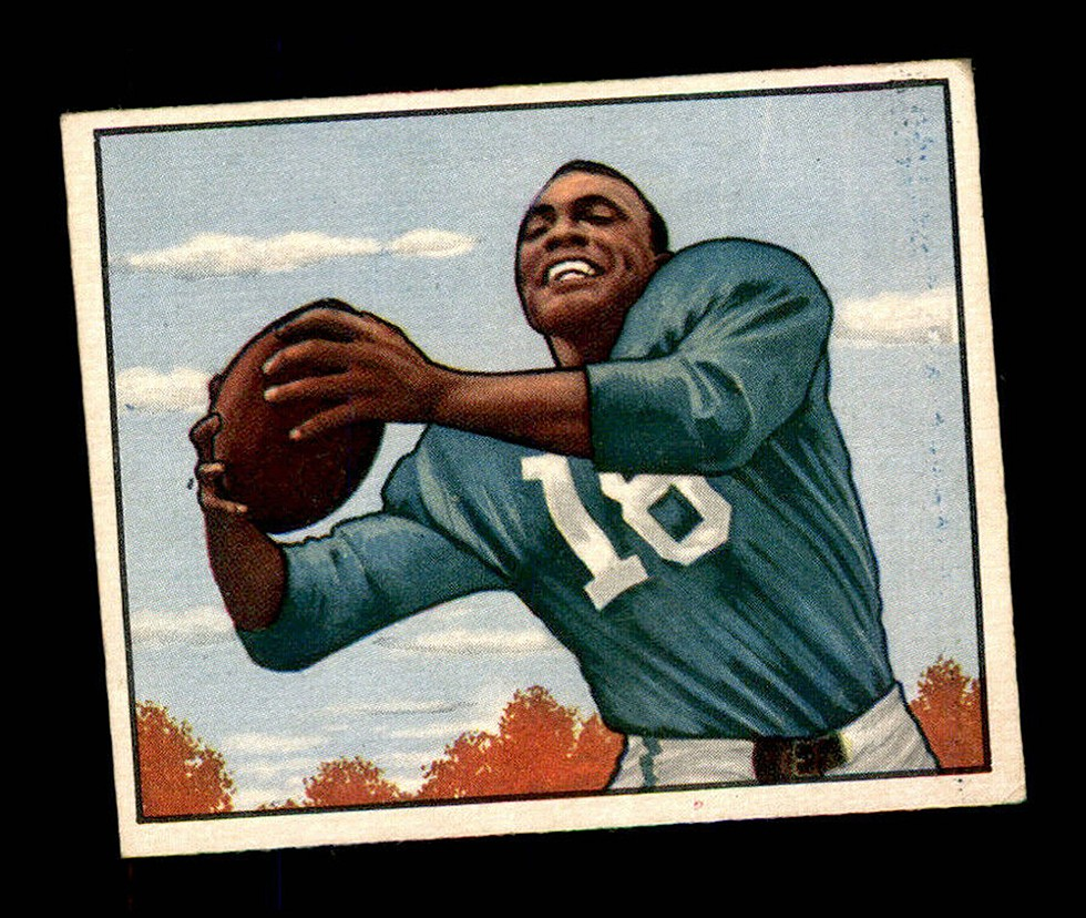 Wally Triplett played for the Detroit Lions from 1949–50. - COURTESY PHOTO