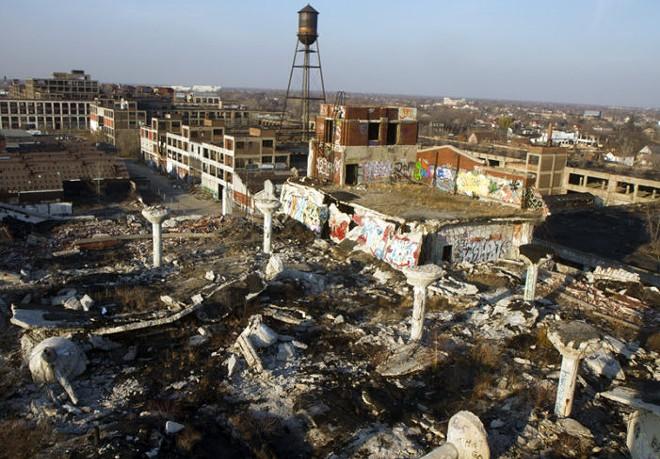 Packard Plant in Detroit. - STEVE NEAVLING