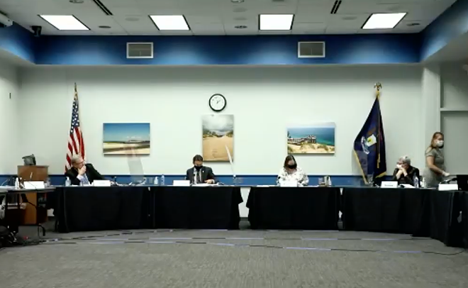 Michigan Board of State Canvassers certifies the election results. - SCREENGRAB/ZOOM