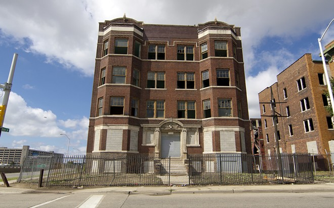 The former Hotel Ansonia 2447 Cass. - STEVE NEAVLING