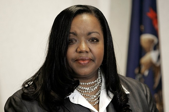 Wayne County Prosecutor Kym Worthy. - PHOTO VIA WAYNE COUNTY