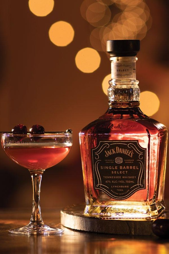 """Single Barrel Manhattan"": Matured in a Single barrel for the best time of the year"