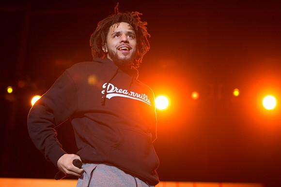 J. Cole. - SHUTTERSTOCK