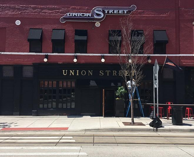 Detroit's Union Street restaurant. - LEE DEVITO