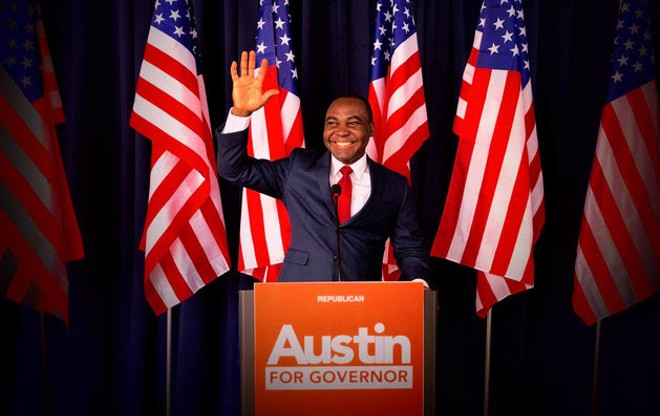 COURTESY OF AUSTIN FOR GOVERNOR