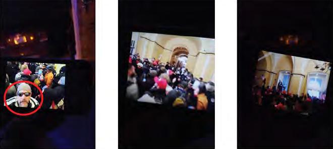Photos on James Mels' phone. - FBI