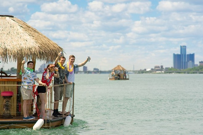 Tiki Tours Detroit is one way to get drunk on the open seas. - NOAH ELLIOTT MORRISON