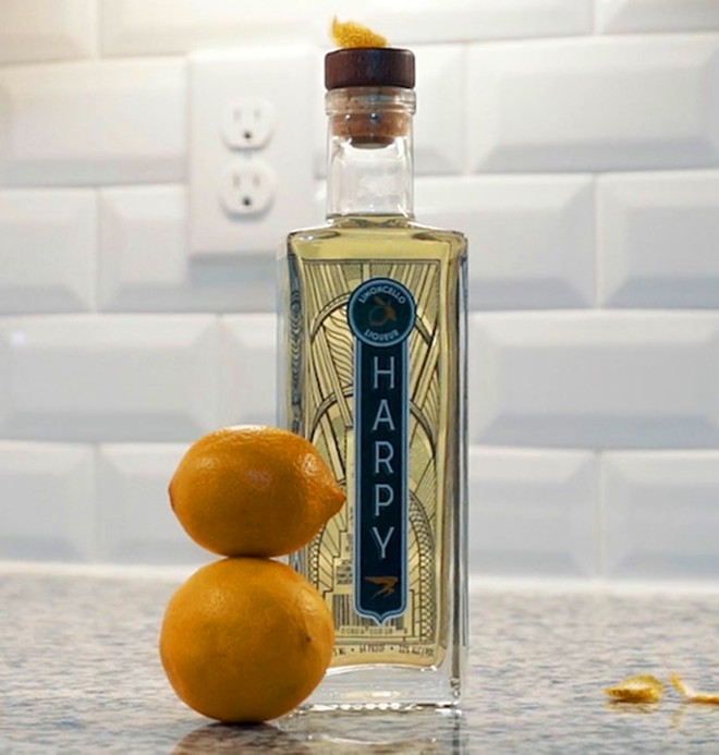 Metro Detroit-based Harpy Liquor debuted with a new limencello. - COURTESY PHOTO