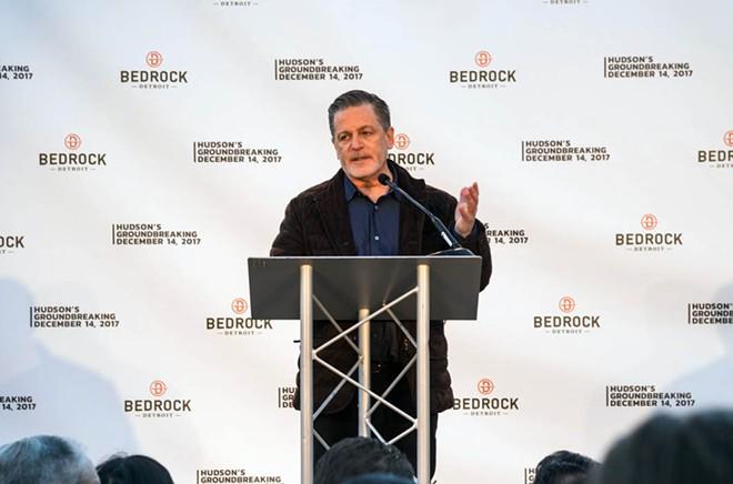 Bedrock Detroit owner Dan Gilbert. - JORDAN BUZZY