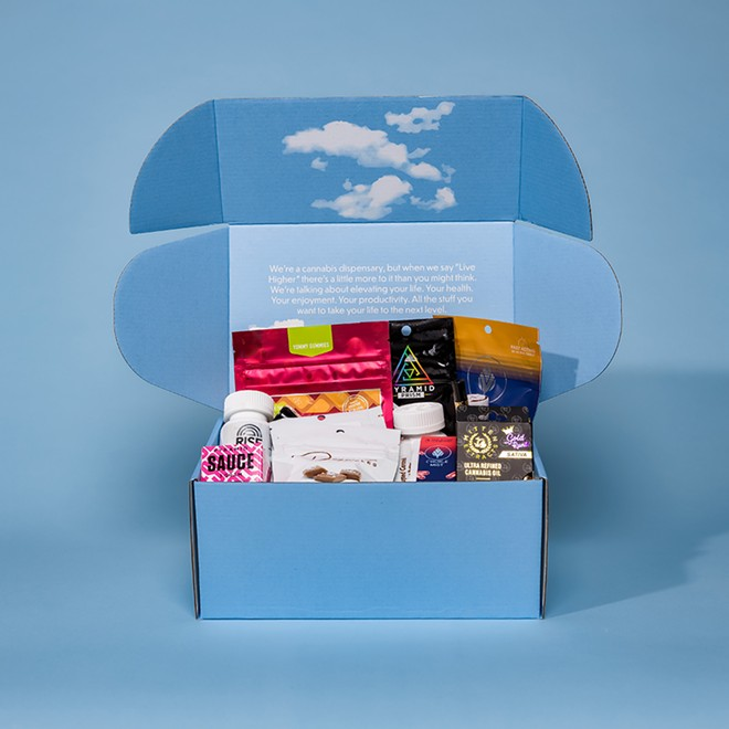 Cloud Cannabis Co. introduced a sleep-themed curated box during Sleep Awareness Week in March. - CLOUD CANNABIS CO.
