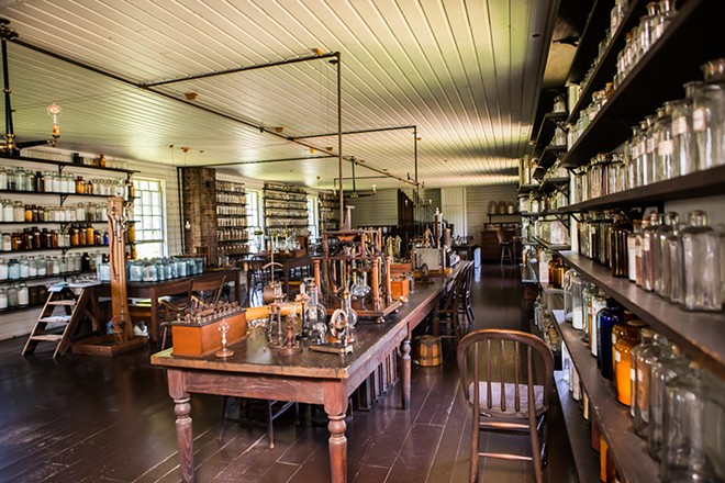 Thomas Edison's Menlo Park Laboratory at Greenfield Village is open to the public again. - COURTESY OF GREENFIELD VILLAGE