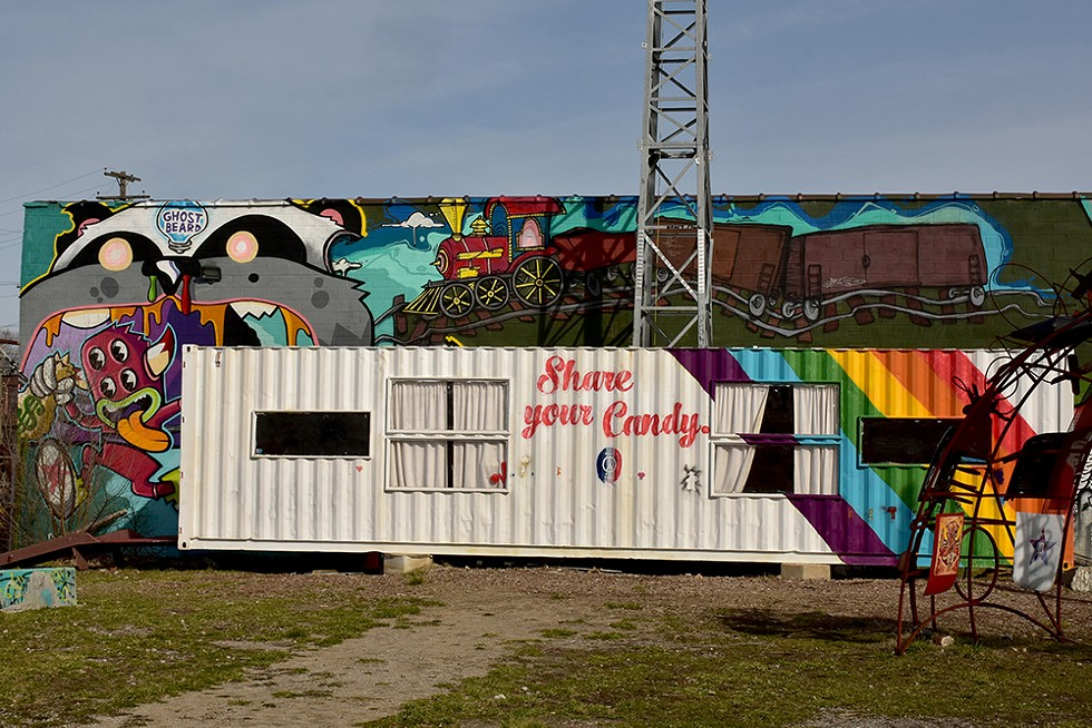 """Lincoln Street Art Park's motto is """"Share your candy."""" Owner Matt Naimi says he wants to maintain that ethos while redeveloping the property as part of a $20 million affordable housing project called Dreamtroit. - AMAURY LAPORTE, FLICKR CREATIVE COMMONS"""