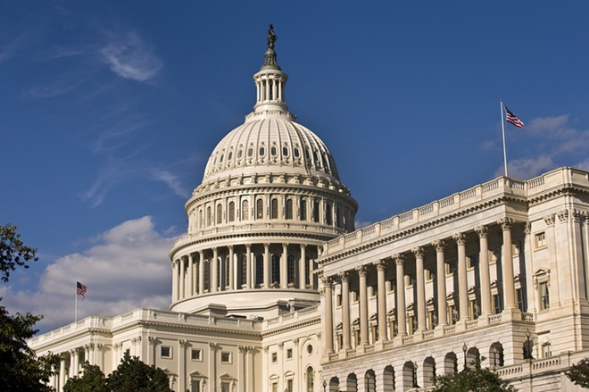 U.S. Capitol building in Washington, D.C. - SHUTTERSTOCK