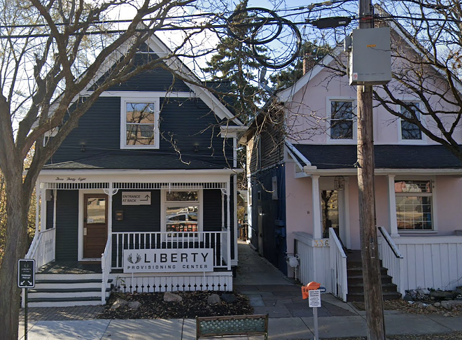 Owners of Liberty Provisioning Center in Ann Arbor to open first cannabis consumption lounge in the state. - GOOGLE MAPS/STREET VIEW
