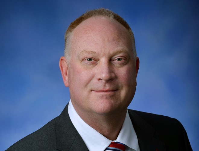 State Rep. Matt Maddock, R-Milford. - MICHIGAN HOUSE