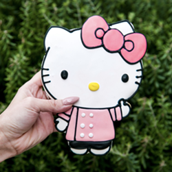 Eat me. - COURTESY OF HELLO KITTY CAFE TRUCK