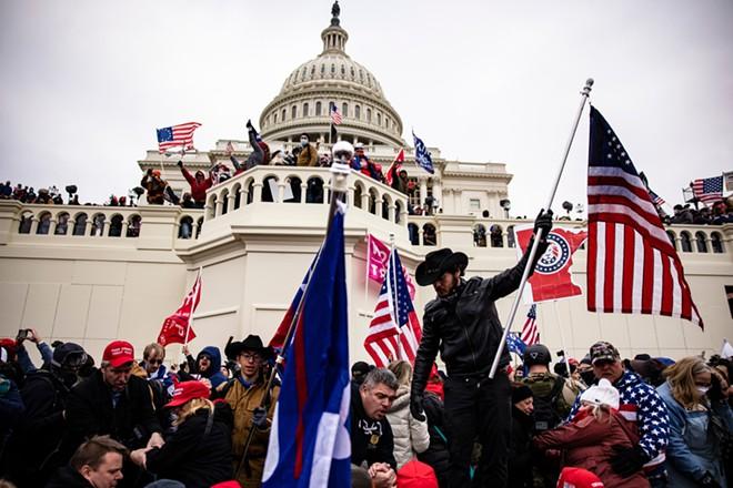 Pro-Trump supporters storm the U.S. Capitol on Jan. 6. - ALEX GAKOS / SHUTTERSTOCK.COM