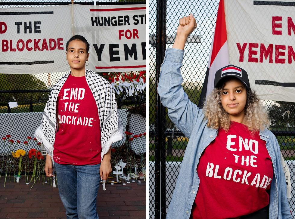 """Hunger Strike For Yemen,"" by Garrett MacLean. - GARRETT MACLEAN"