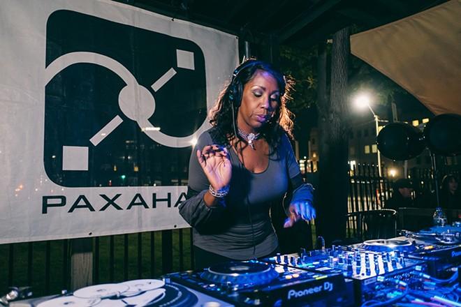 DJ Minx performs Sunday at TV Lounge. - COURTESY OF PAXAHAU
