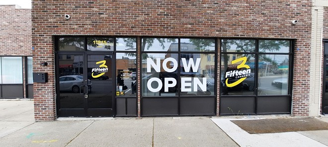 3Fifteen opened a dispensary in Hamtramck. - COURTESY PHOTO